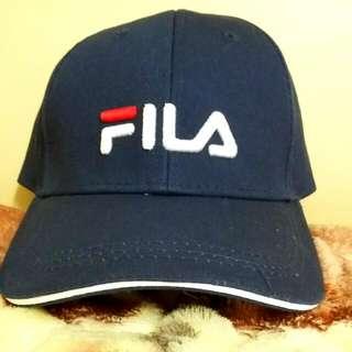 FILA帽(藍)