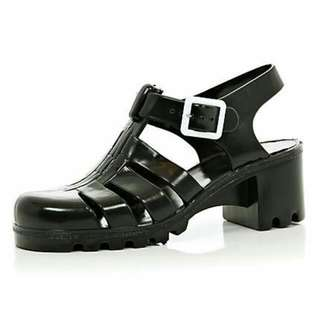 BNWT Juju Jelly Shoes Black