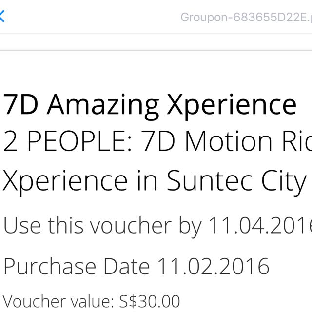 7d Amazing Xperience