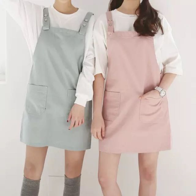[預購]純色姐妹連身裙
