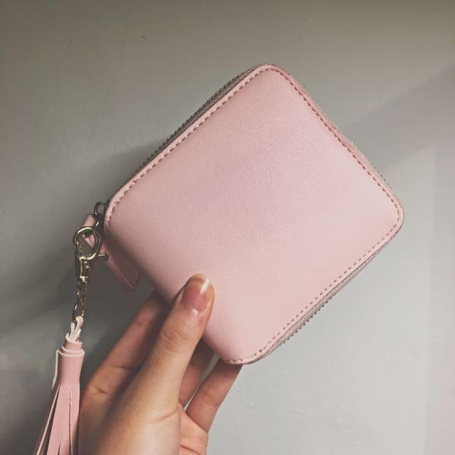 (含運)粉色短夾👛💗