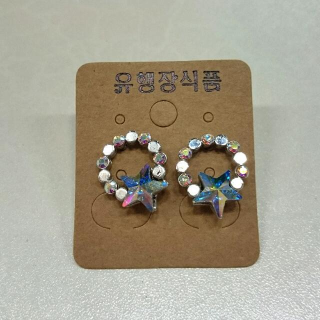 韓版造型耳環/耳針式