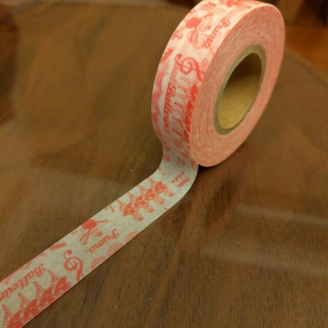 日本紙膠帶 芭蕾女郎!特殊款