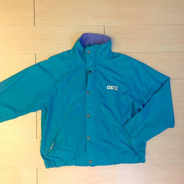 保留中)水藍運動夾克 古著外套
