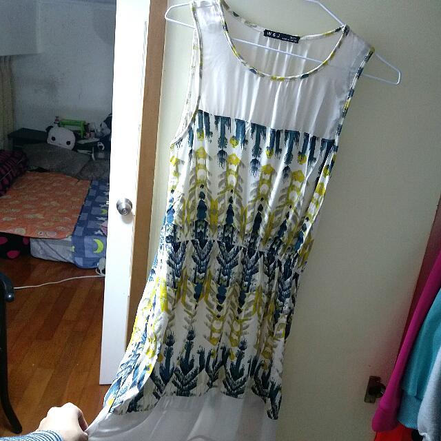 連身裙 無袖