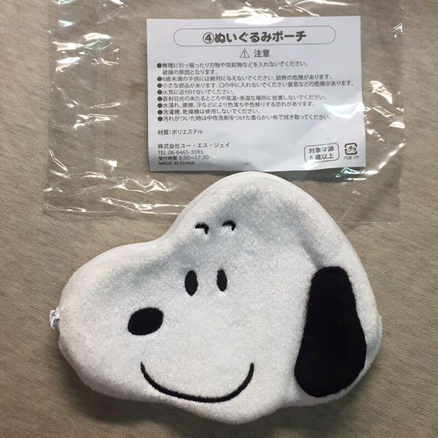 日本 環球影城 史奴比 Snoopy 零錢包