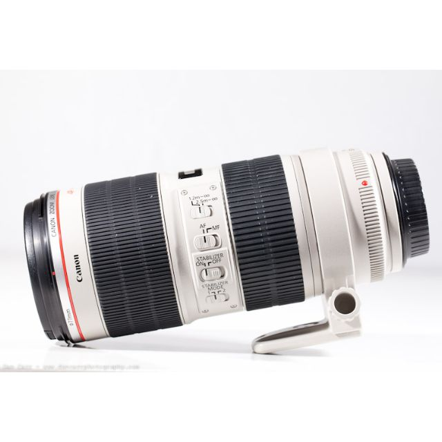 CANON 70-200 f2.8L IS II Zoom Telephoto Lens for Canon Full Frame ...