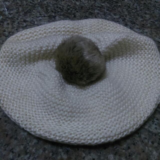 全新 H&M針織圓帽