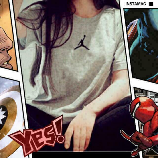 ®小飛人 T-shirt 短袖  籃球 Nike