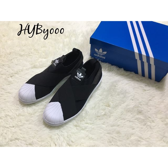 Adidas Superstar Slip On 繃帶鞋