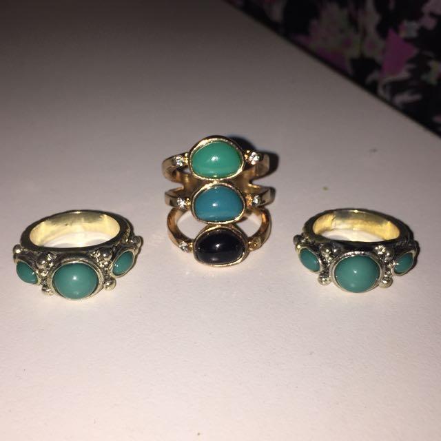 Colette Rings Size M-L