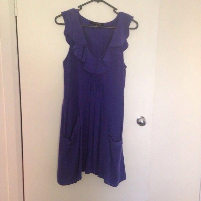 Decuba Royal Blue Dress