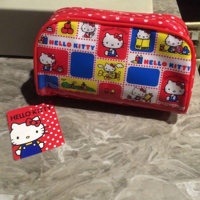 日本購入Hello kitty化妝包