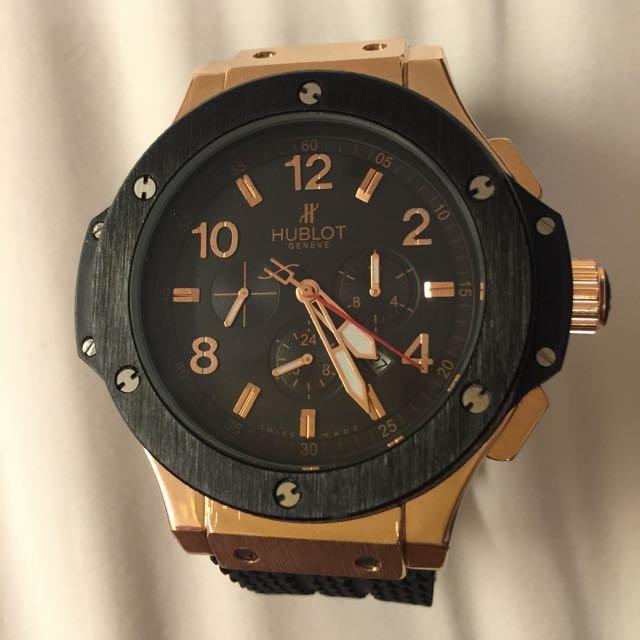 hublot automatic luxury watch