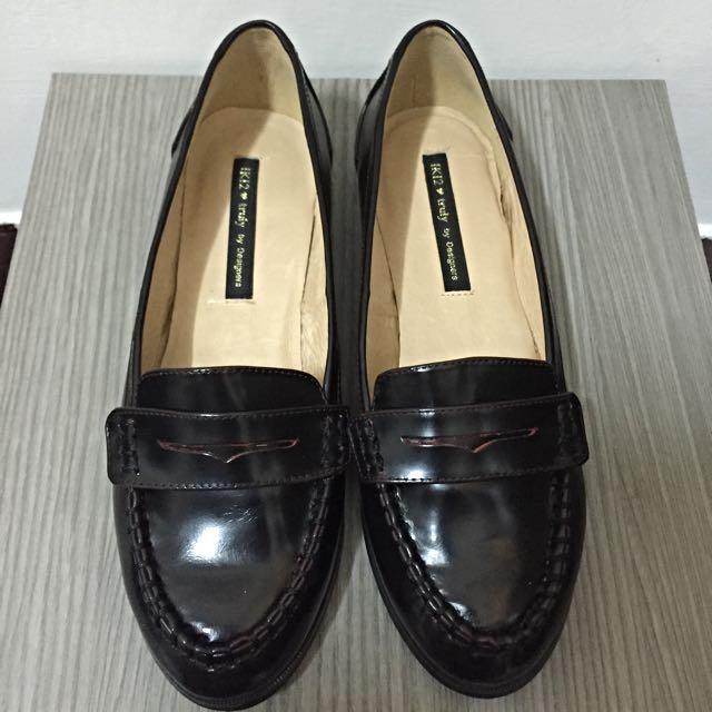 Iki2 英式 古著 酒紅紳士鞋 23cm 專櫃購入正貨