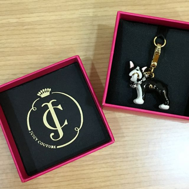 JUICY COUTURE 法鬥吊飾