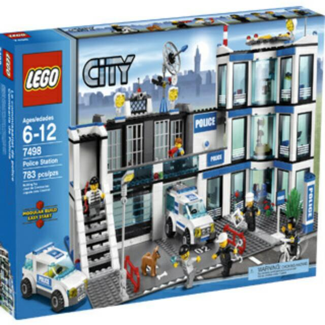 Lego City 7498 Police Station Year 2011 Toys Games Bricks Figurines On Carousell