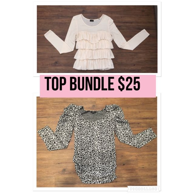 Long Sleeve Top Bundle