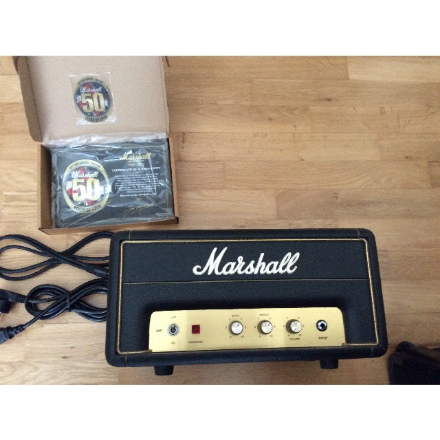Marshall 50th Anniversary JMP-1 H, Music & Media on Carousell