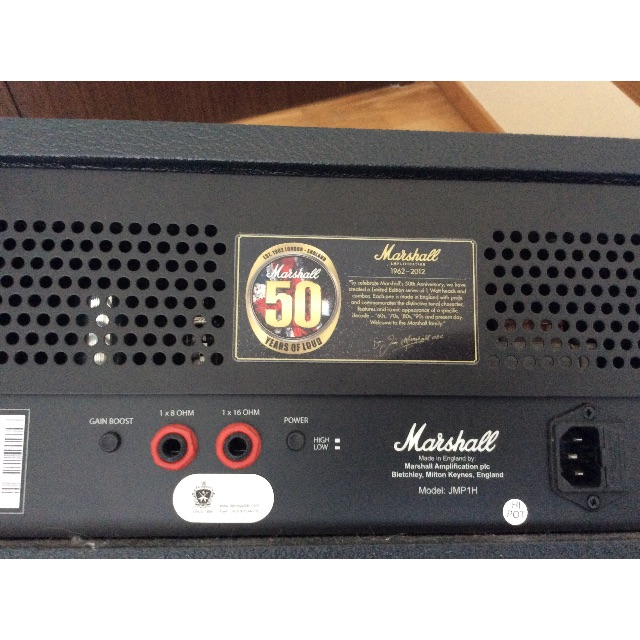 Marshall 50th Anniversary JMP-1 H, Music & Media on Carousell