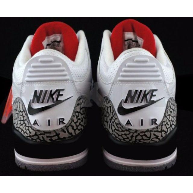Nike Air Jordan III (3) White Cement Retro '88