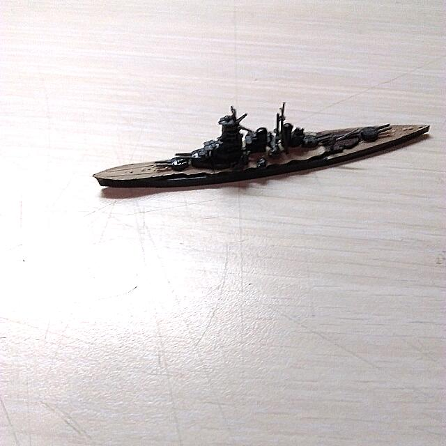T-ARTS 洋上模型 連合艦隊 7 金剛 轉蛋 扭蛋