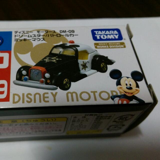 TOMICA  迪士尼  米老鼠  警車