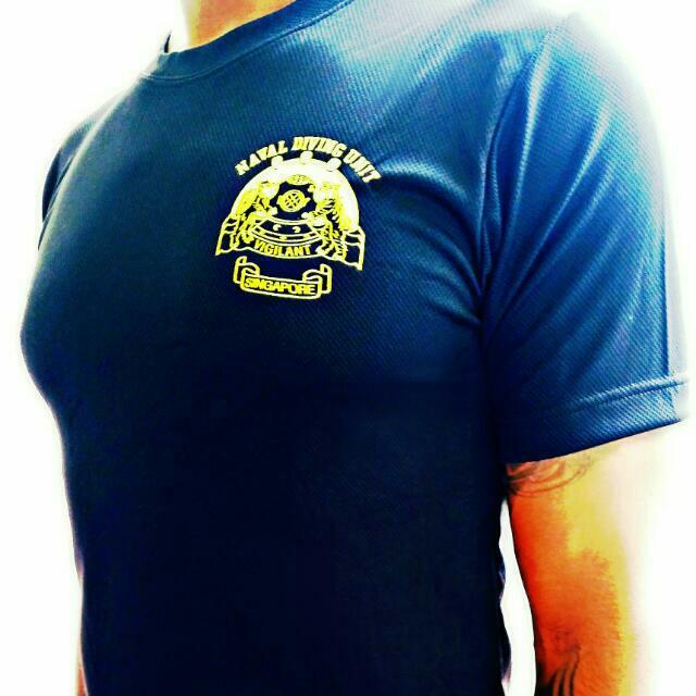 T-shirts NDU black and Blue
