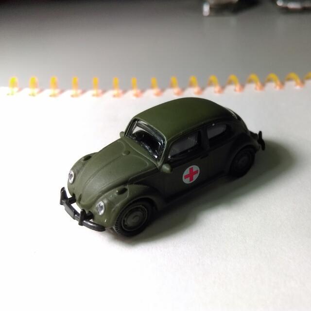 vw beetle 紅十字龜