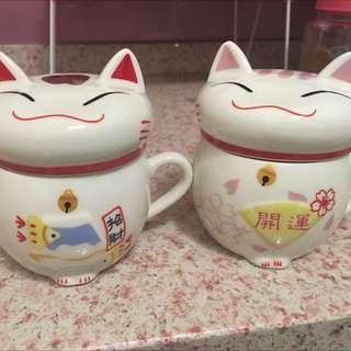 貓咪 情侶 對杯 送禮 首選