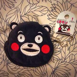 ʕ •ᴥ•ʔ KUMAMON 熊本熊 日本 九州 紀念品 零錢包