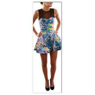 Multi Colour Skater Dress! $25