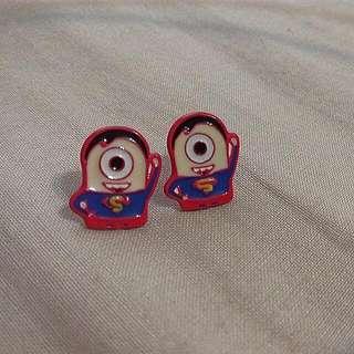 小小兵超人耳環