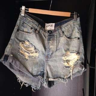 ONE TEASPOON 'Hawks' Shorts