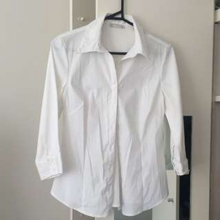 White Work Shirt - Size 10