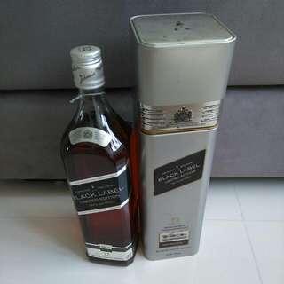 Johnnie Walker Black Label Limited Edition (Hard Liquor Not Vodka Martell Remy Martin)