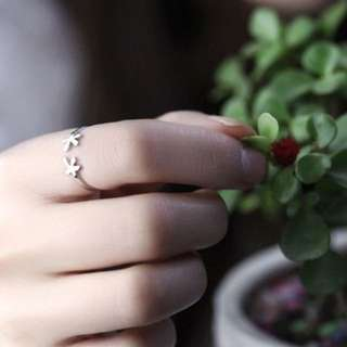 BN Lucky Leaf Adjustable Ring