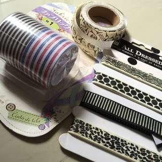 Scrap book Cloth Ribbon Tapes Cheap