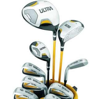 [Brand New / Unused] Wilson Ultra Golf Clubs