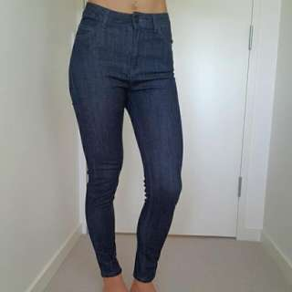 Just Female High Waisted Skinny Jeans XS
