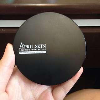 April skin氣墊粉餅 23號 自然色