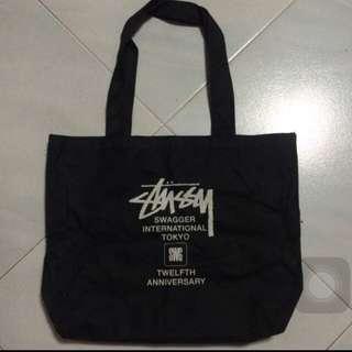 BN INSTOCK Stussy 12th Anniversary Tote Bag