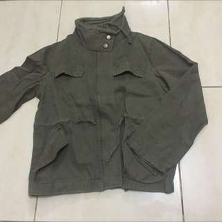 Parka Jacket Army Green