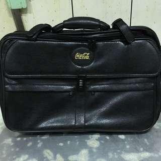 [全新] 可口可樂皮革三用旅行袋