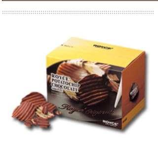 (已截單)日本北海道代購 Royce 巧克力洋芋片