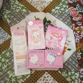 Cute Note Pads And Notebook And Tabs
