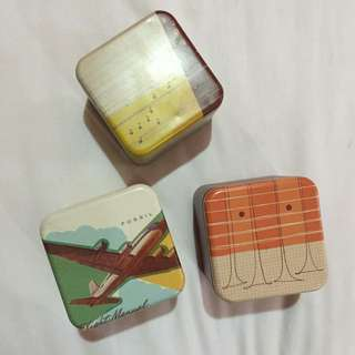 Assorted Fossil Boxes