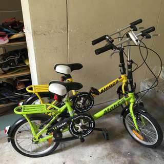 Alloca Bicycle for Kids BOTH FOR 40$ Only