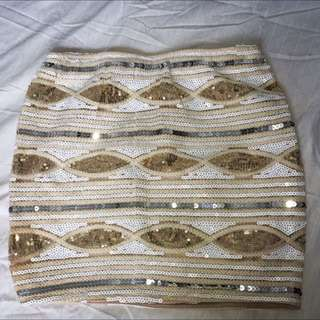 Sequin Skirt Size 6