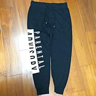 H&M 棉褲 縮口